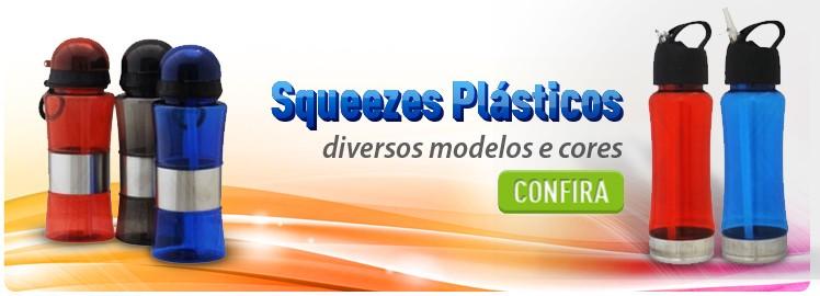 Brindes Personalizados | Squeeze Plástico